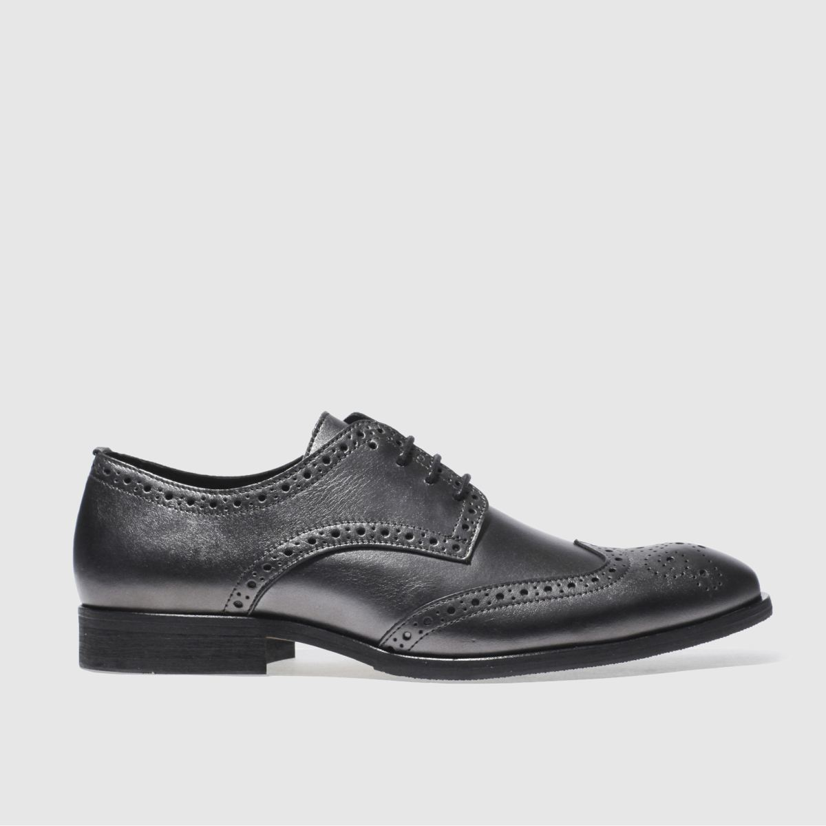 schuh pewter ramsay brogue shoes