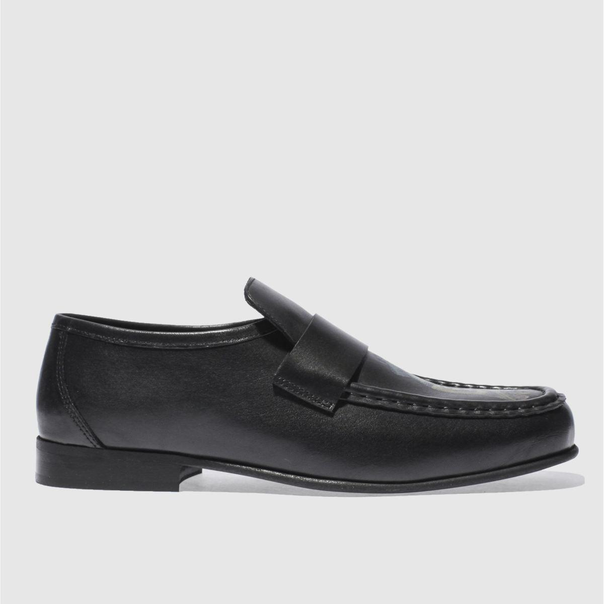 schuh black argent geisha shoes