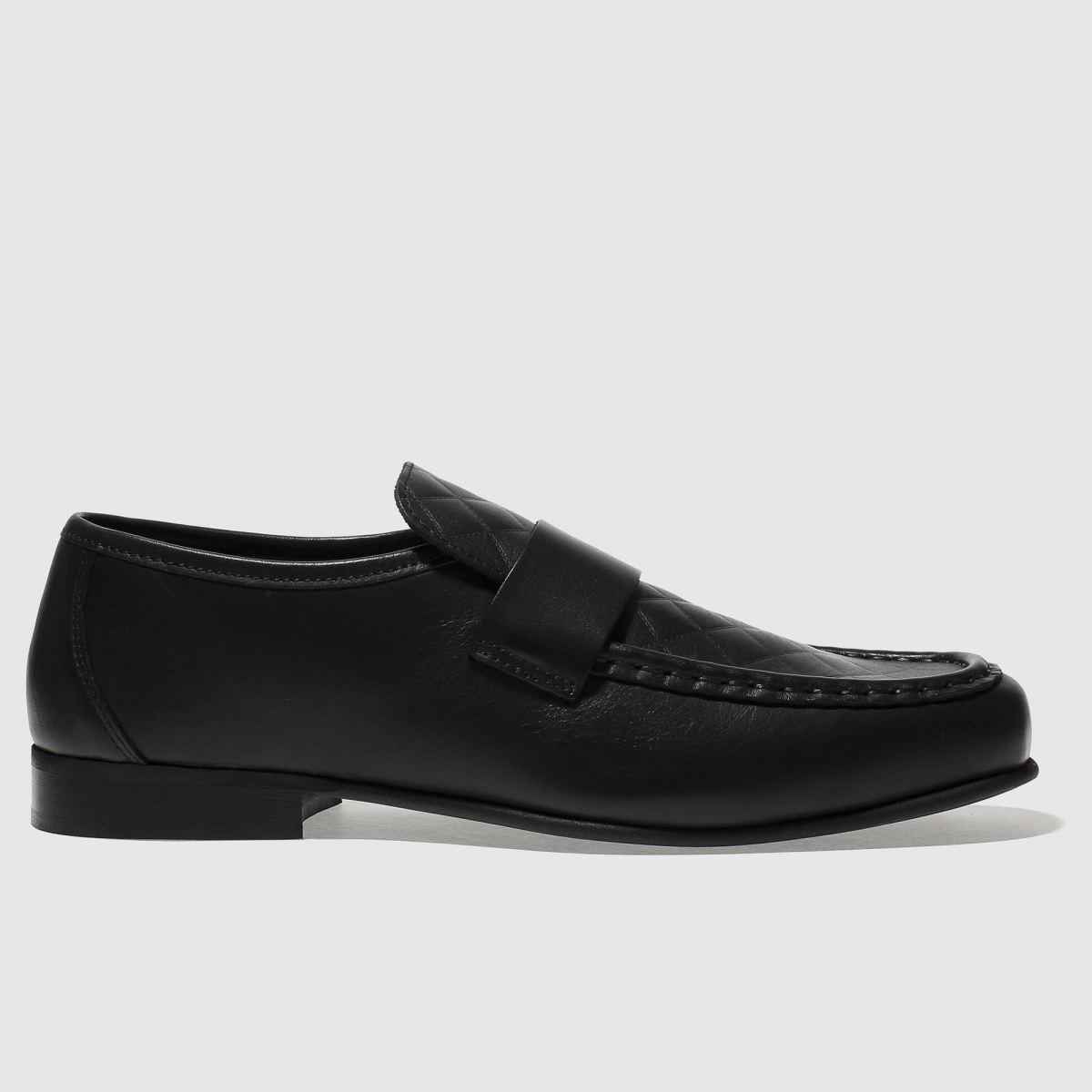 schuh black argent quilt shoes