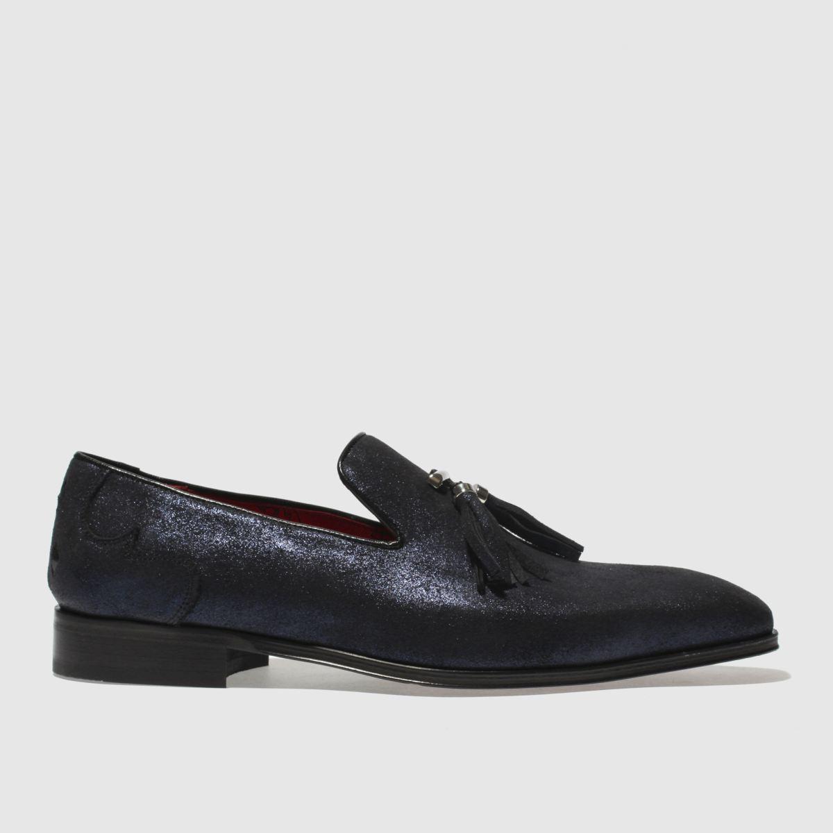 Jeffery West Navy J West Soprano Slip Shoes