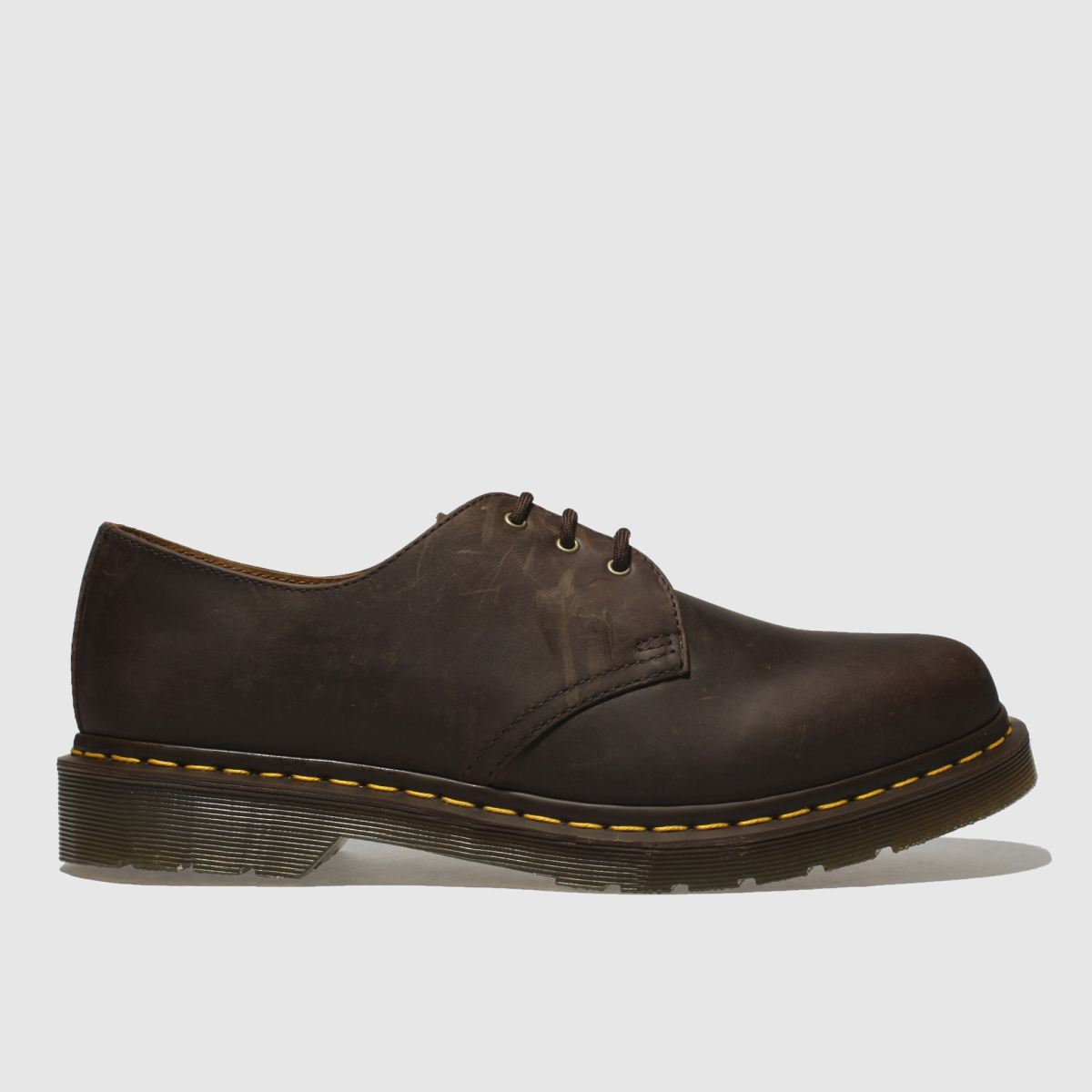 Dr Martens Brown 1461 Crazyhorse Shoes