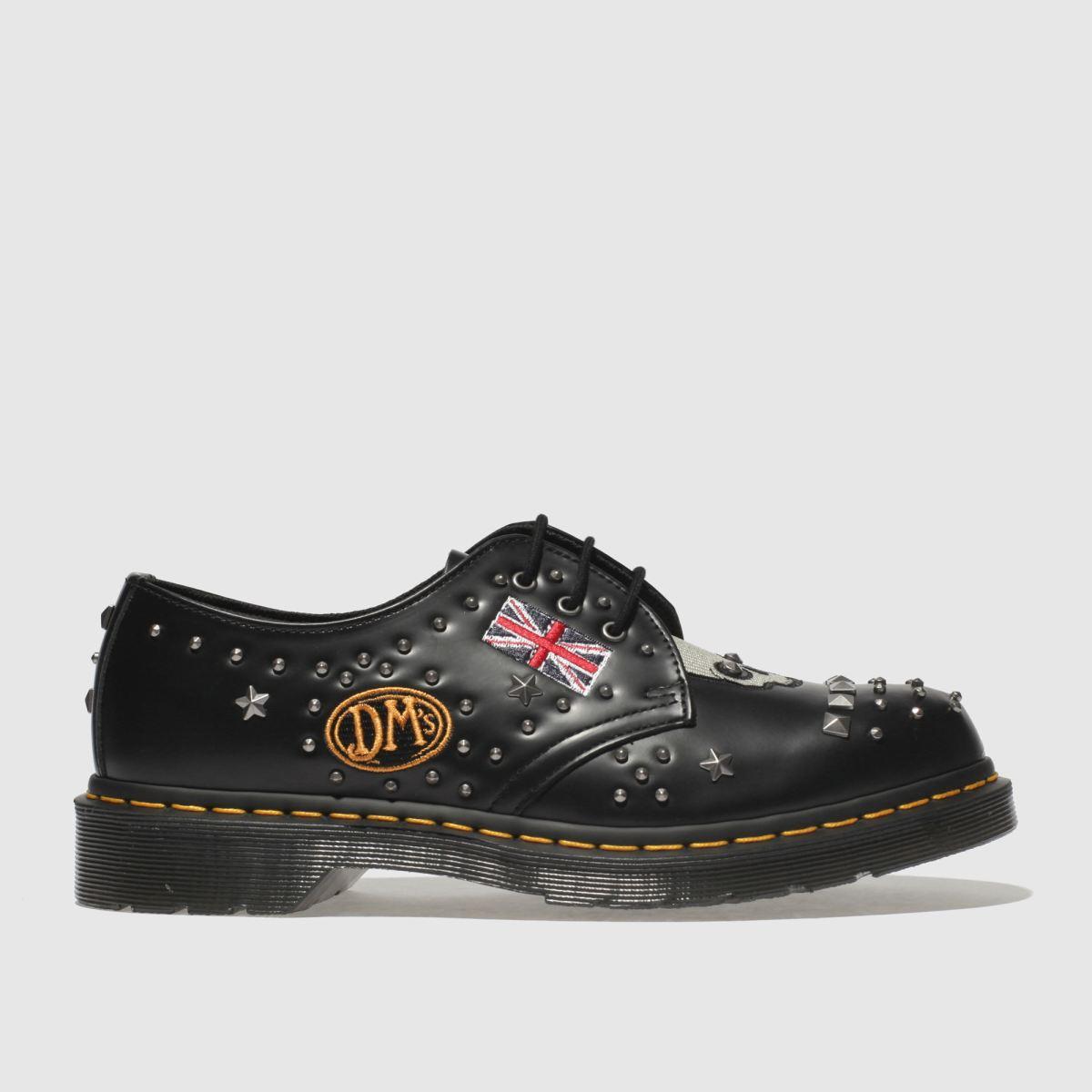 Dr Martens Black 1461 Rockabilly Shoes