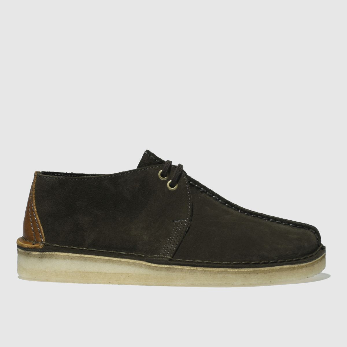 Clarks Originals Dark Green Desert Trek Shoes