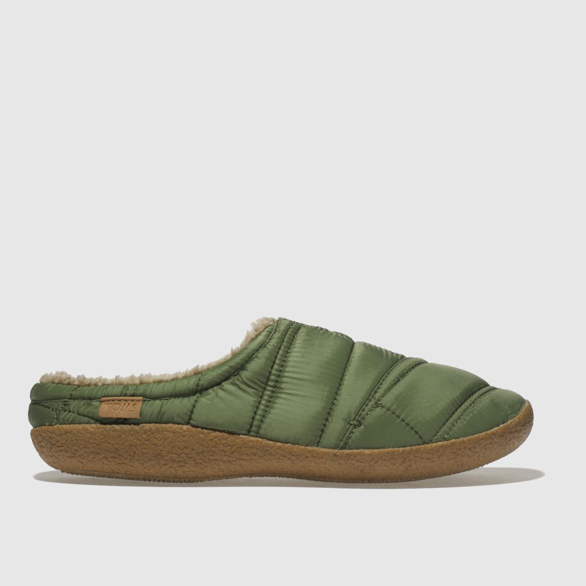 Toms Green Berkeley Slipper Quilted Slippers