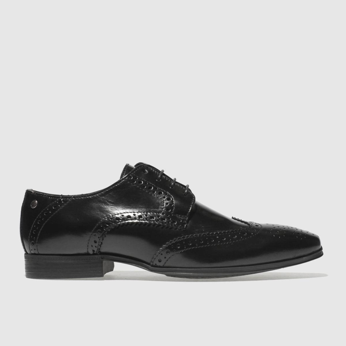 Base London Black Clyde Shoes