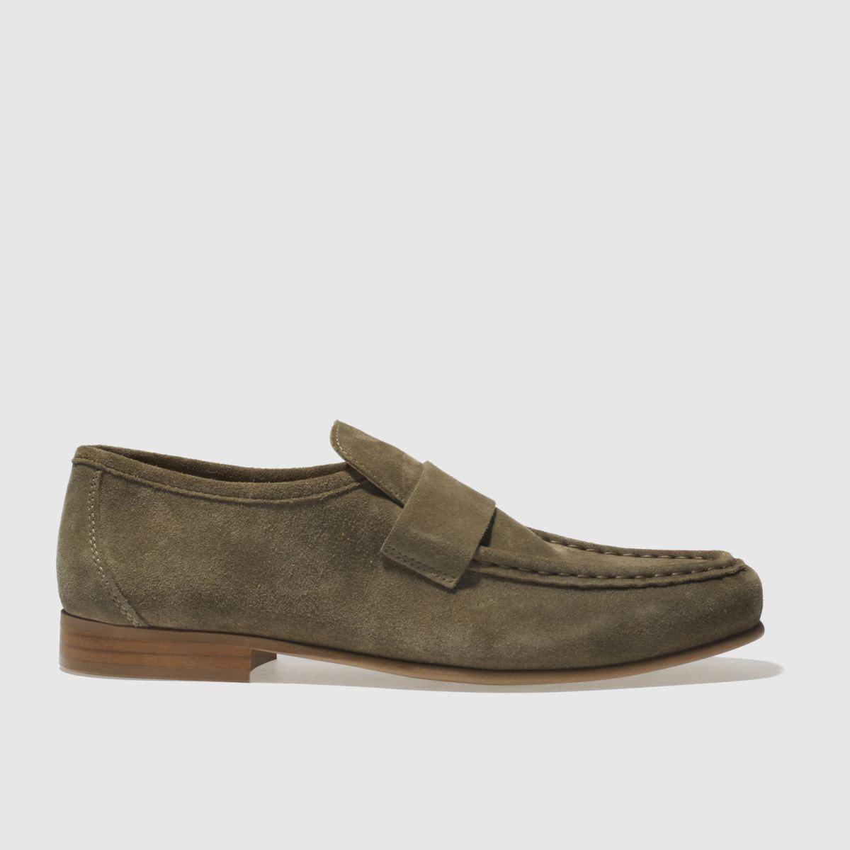 Schuh Khaki Argent Shoes