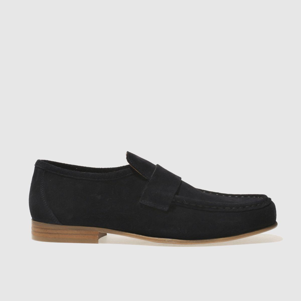 Schuh Navy Argent Shoes