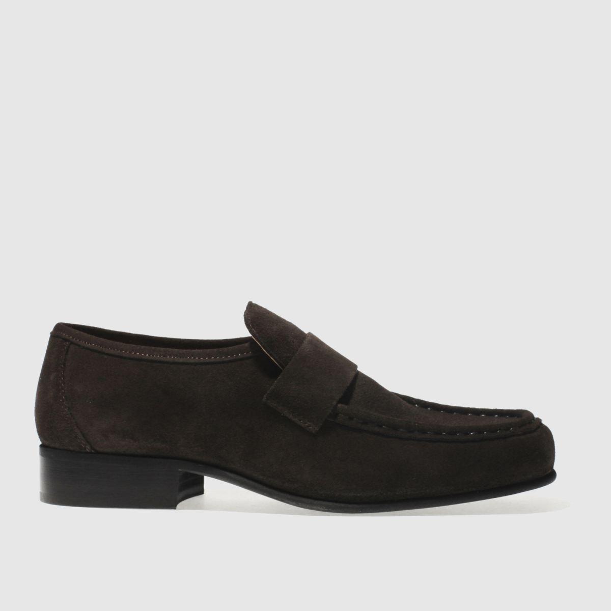 Schuh Dark Brown Argent Stax Shoes