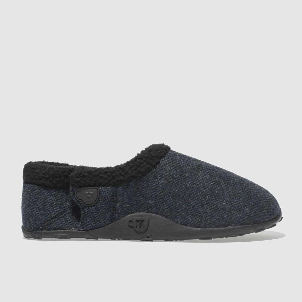 Homeys Dark Grey Tony Slippers