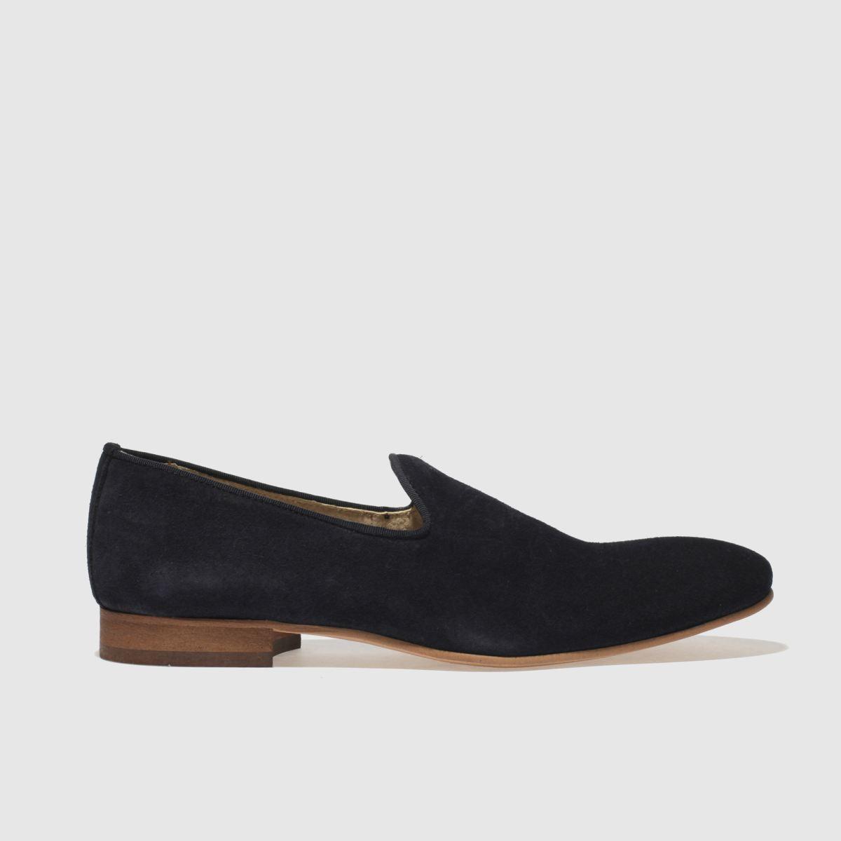 Schuh Navy Wicks Slip Shoes