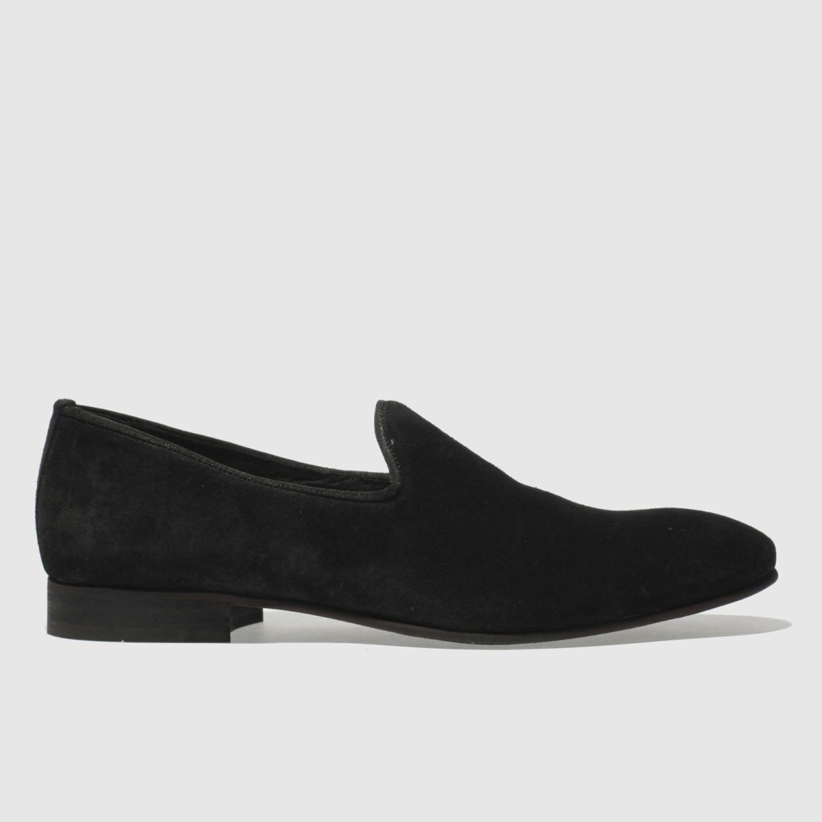 Schuh Black Wicks Slip Shoes