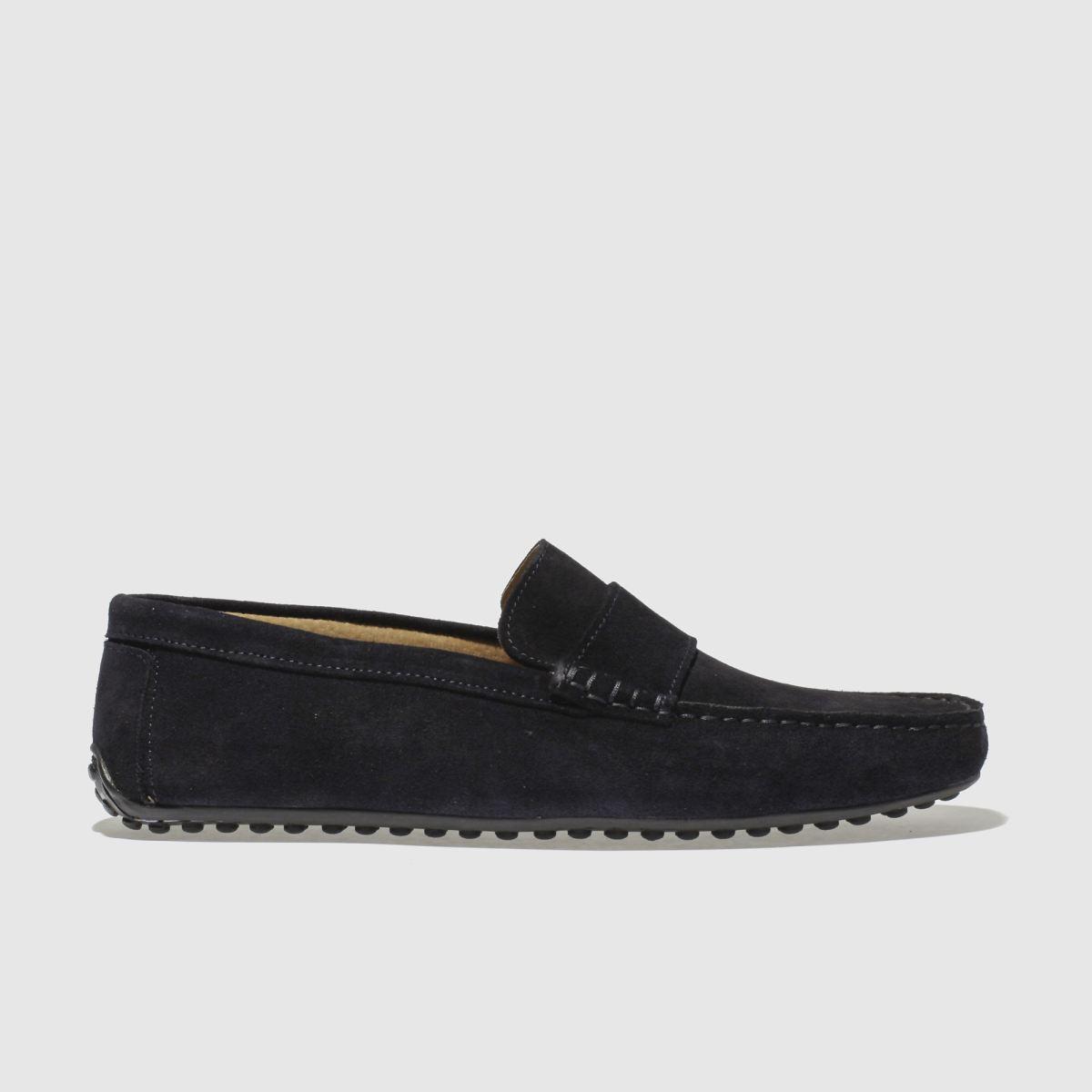 Schuh Navy Mario Driver Shoes