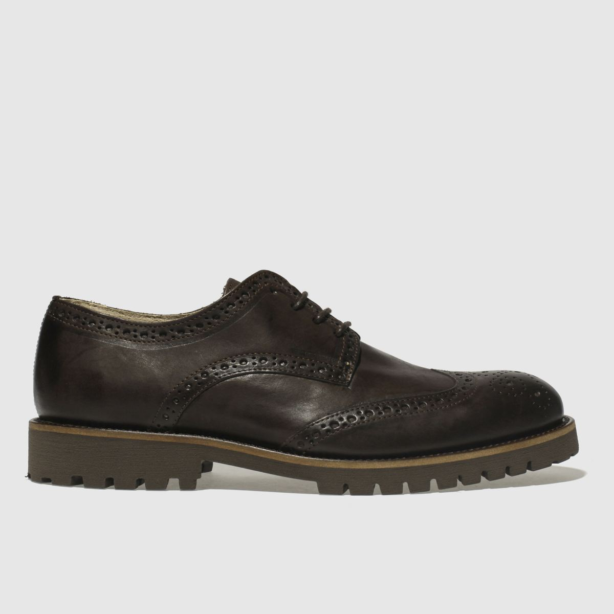Schuh Dark Brown Bishop Shoes