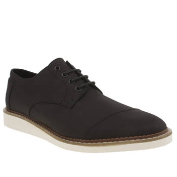 Toms Black Brogues Shoes