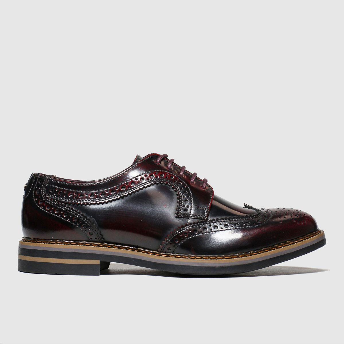 Base London Base London Burgundy Kent Shoes