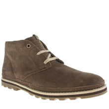 Dark Brown Caterpillar Cormac Mid