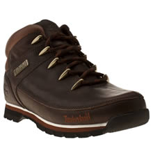 Dark Brown Timberland Euro Sprint Hiker