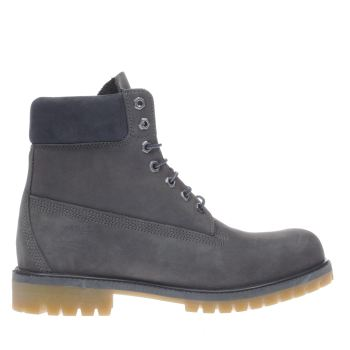 Timberland Grey 6 Inch Premium Mens Boots