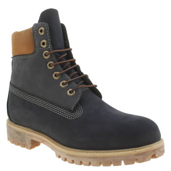 Timberland Blue 6 Inch Blueberry Muffin Boots