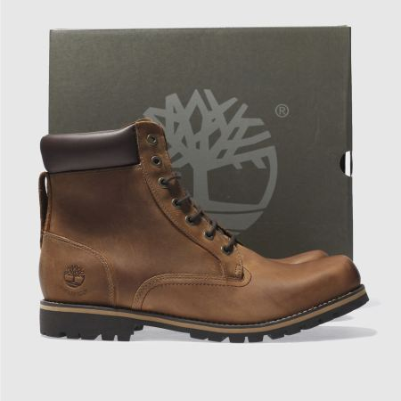 timberland 6 inch rugged brown 1