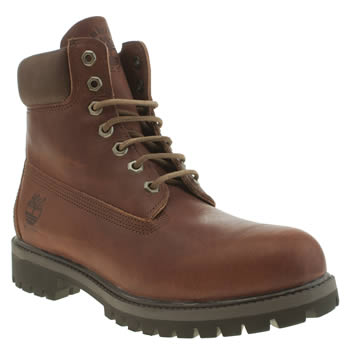 Timberland Brown Heritage 6 Inch Premium Boots
