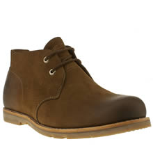 Dark Brown Timberland Plain Toe Chukka Waterproof