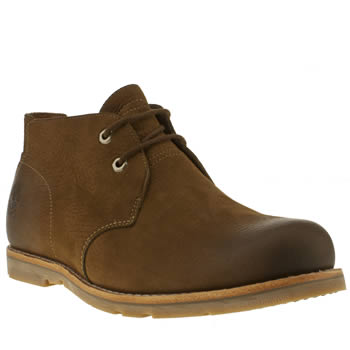 mens timberland dark brown plain toe chukka waterproof boots