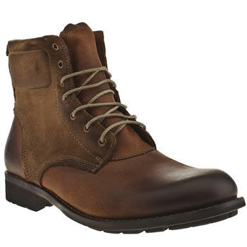 mens timberland brown earthkeeper city 6in zip boots
