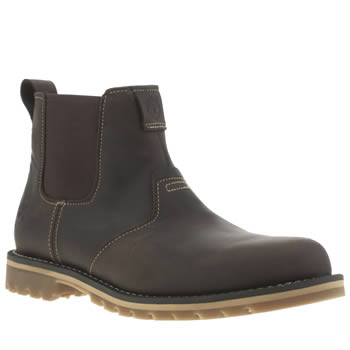 Mens Timberland Dark Brown Grantly Chelsea Boots