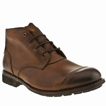 Timberland Brown Ek City Chukka Boots