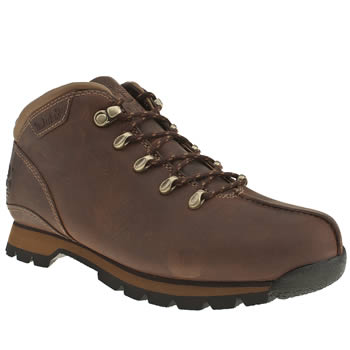 Mens Timberland Dark Brown Splitrock Boots