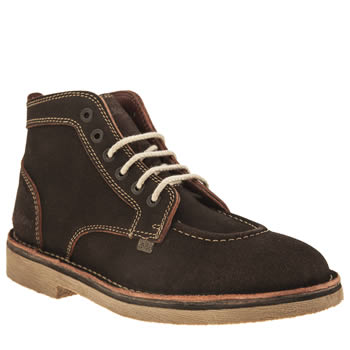 Mens Kickers Brown Legendry Boots