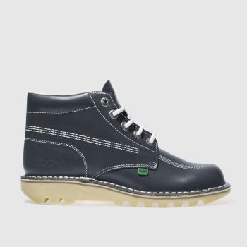 Mens Kickers Navy Hi Boots