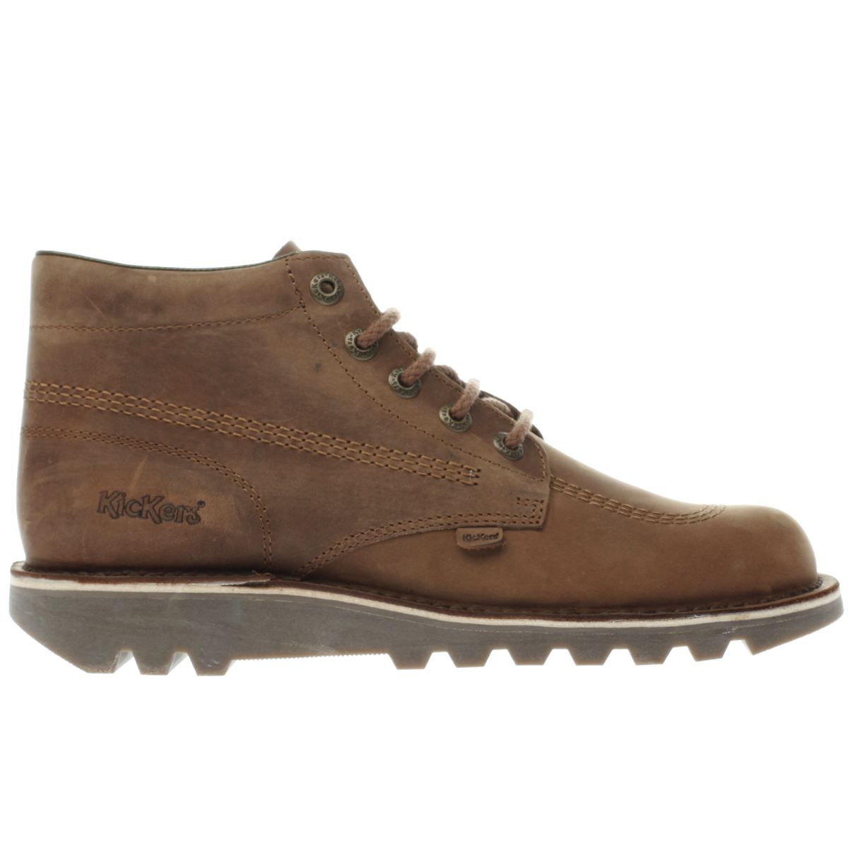 kickers brown kick hi boots