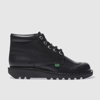 Kickers Black Hi Boots