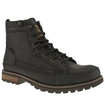 mens caterpillar black bryant boots