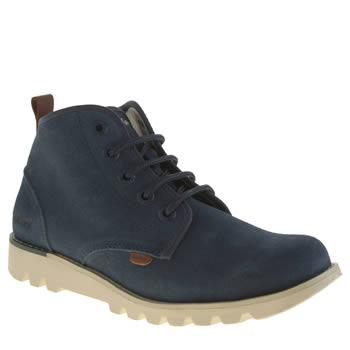 Kickers Blue Hisuma Boots