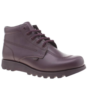 Kickers Purple Kick Hi Colour Mens Boots