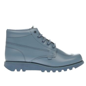 Kickers Pale Blue Kick Hi Colour Mens Boots