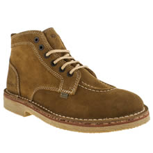 Tan Kickers Legend Boot