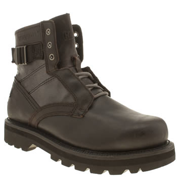 Caterpillar Dark Brown Draven Boots