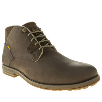 Caterpillar Brown Collins Mid Boots