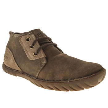 Mens Caterpillar Natural Leroy Mid Boots