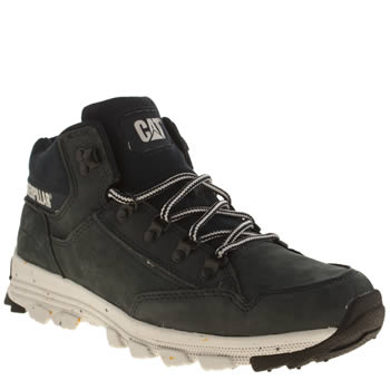 Mens Caterpillar Navy Interact Mid Boots