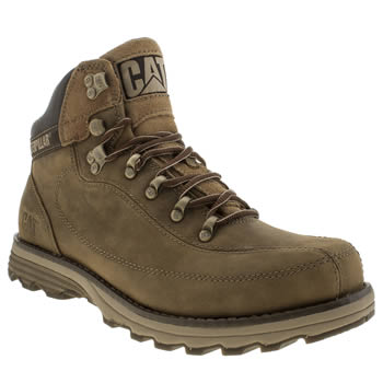 Mens Caterpillar Dark Brown Highbury Boots