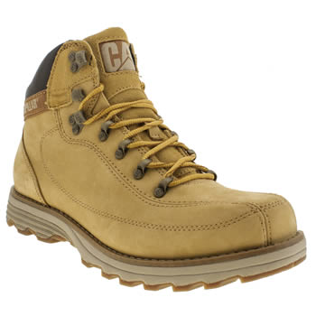 mens cat-footwear tan highbury boots