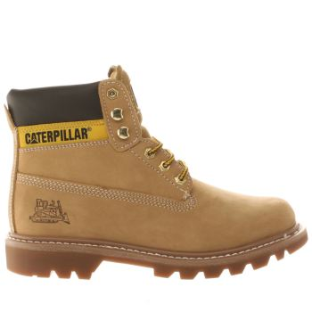 Mens Cat-Footwear Natural Colorado Boots