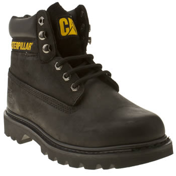 Mens Caterpillar Black Colorado Boots
