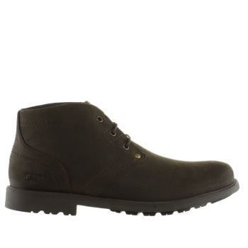 Cat-Footwear Tan Carsen Mid Mens Boots