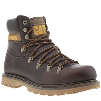 Caterpillar Dark Brown Highgate Boots